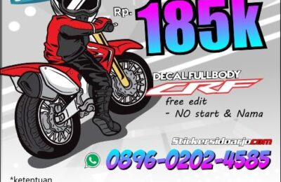 inspirasi decal CRF 150L Supermoto
